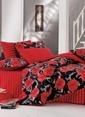 Kupon Home Tek Kişilik Uyku Seti Kırmızı